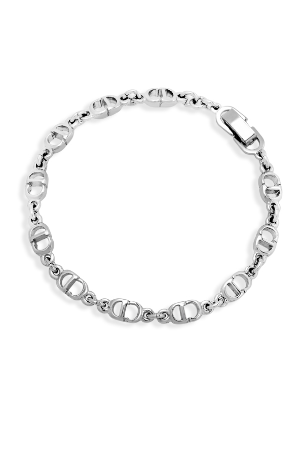 Christian Dior - CD Silver Chain Bracelet