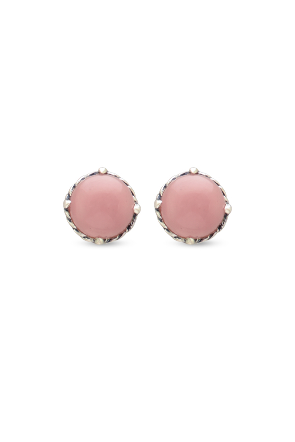 David Yurman - Chatelaine Earrings  Guava Quartz  View 1