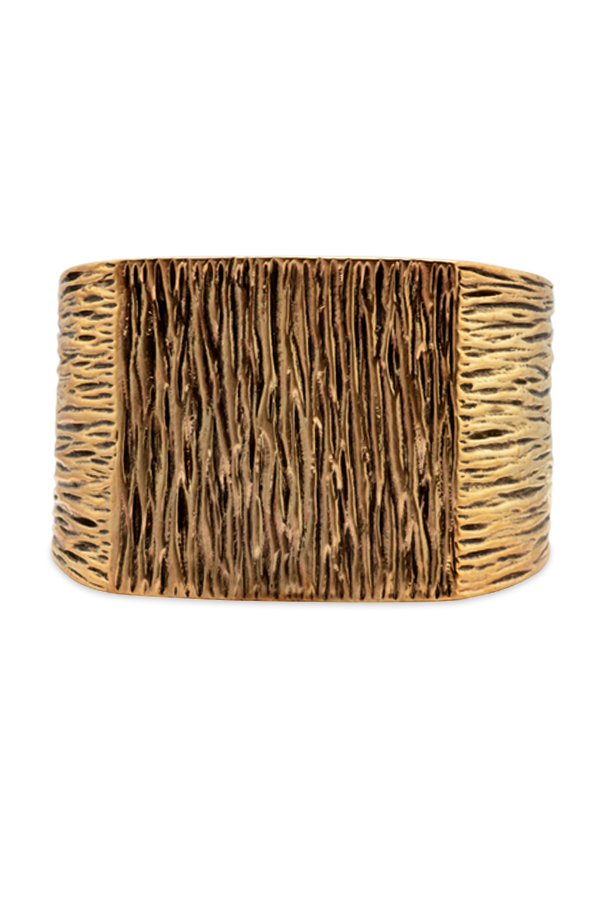 Yves Saint Laurent - Metallic Grunge Cuff View 1
