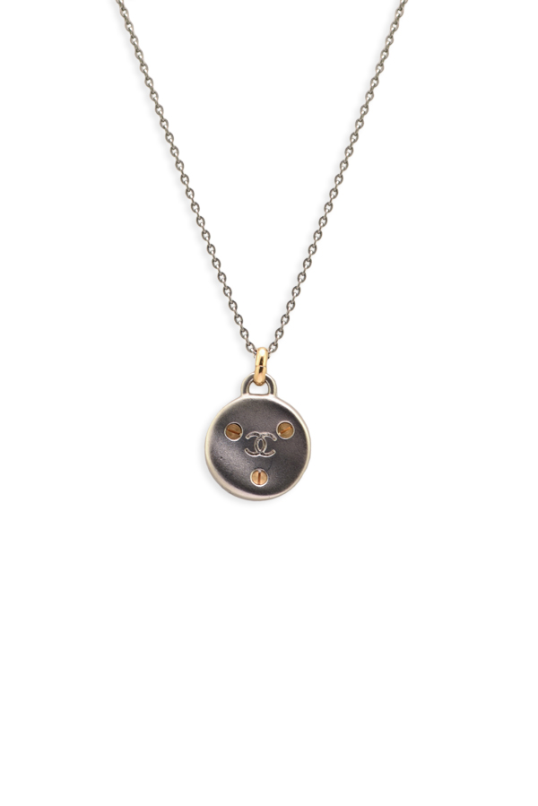Chanel - Screw Design Necklace