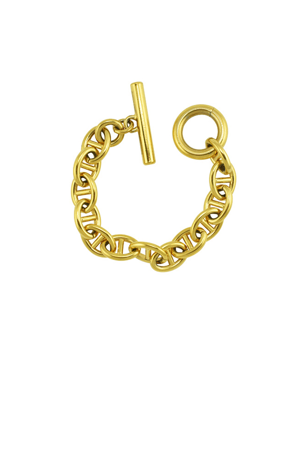 Gucci - 918432313_Switch Jewelry Gucci Gold G Link Bracelet jpg