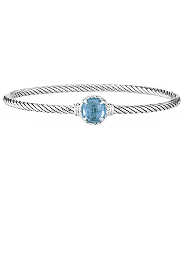 David Yurman - Chatelaine Bracelet (Blue Topaz)
