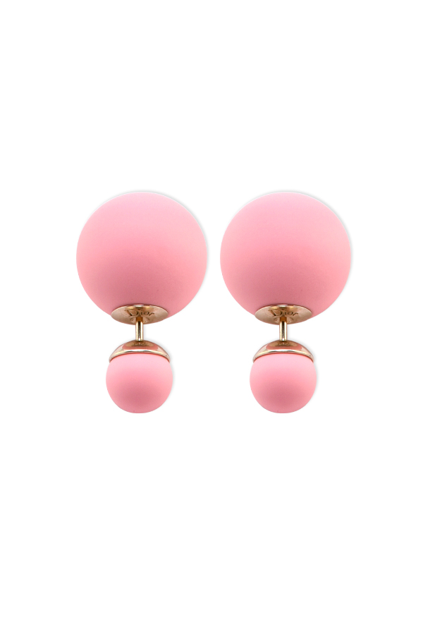 Christian Dior - Tribales Earrings (Hot Pink)