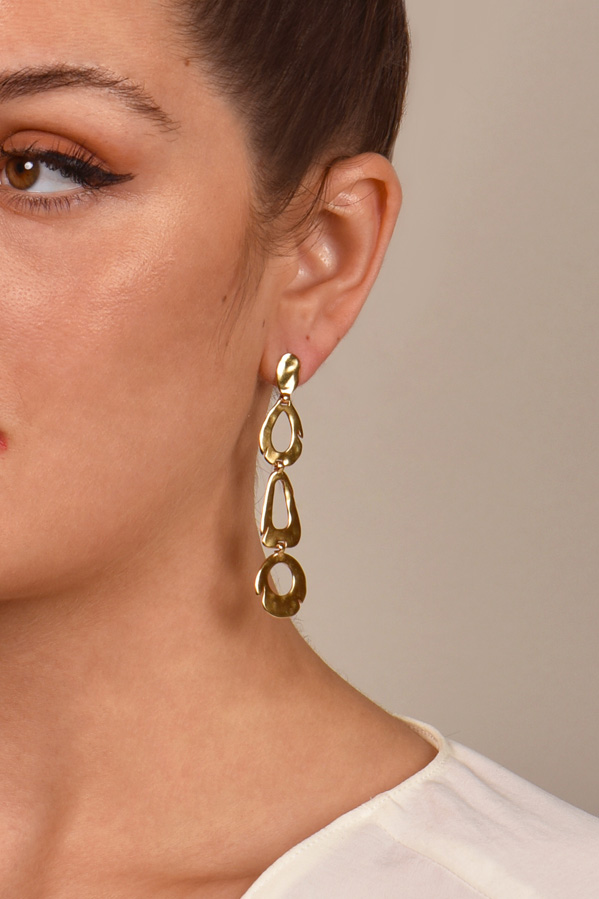 Celine - Abstract Dangle Earrings