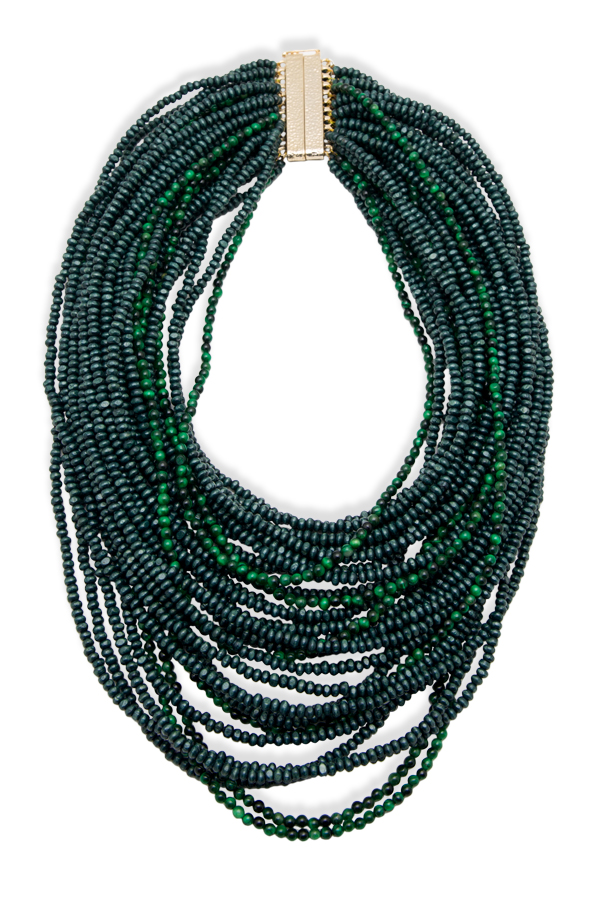 Rosantica - 995703071_Switch Jewelry Rosantica Green Sogno Beaded Necklace jpg